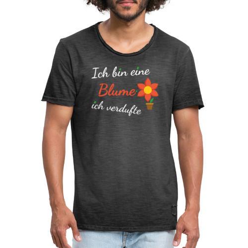 Blume Garten Gärtner Florist Shirt Geschenk - Männer Vintage T-Shirt