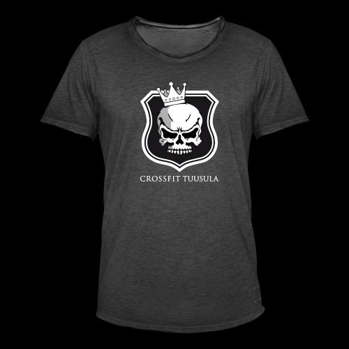 CrossFit Tuusula BW - Miesten vintage t-paita