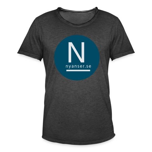 Nyanser.se ärm - Vintage-T-shirt herr