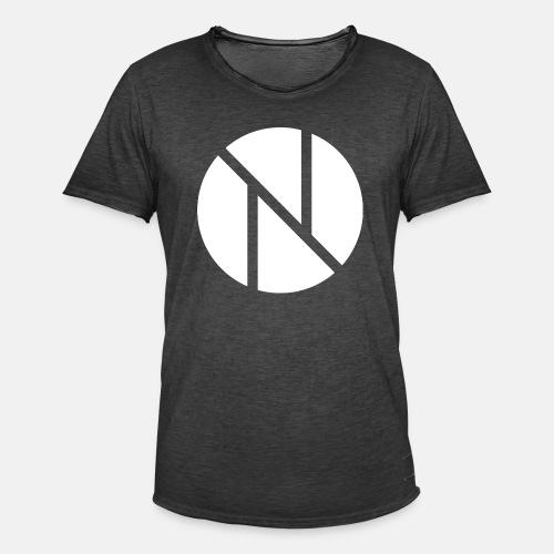 Nic0s Fancy Pullover - Männer Vintage T-Shirt
