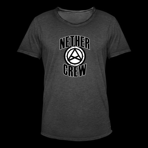 Nether Crew Classic T-shirt - Maglietta vintage da uomo