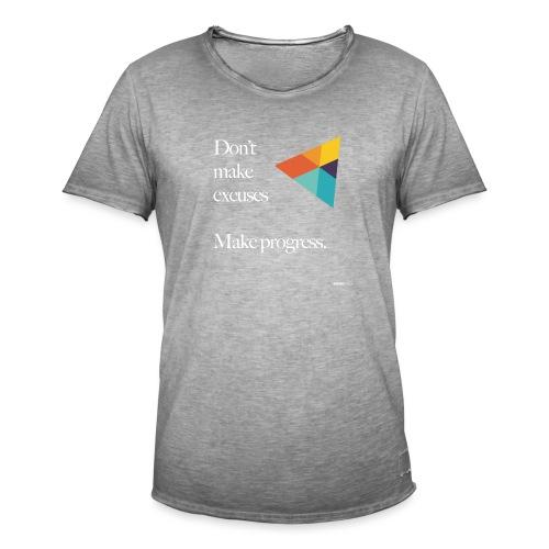 Dont Make Excuses T Shirt - Men's Vintage T-Shirt
