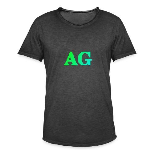 ATG Games logo - Miesten vintage t-paita