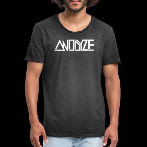 ANODYZE Standard - Männer Vintage T-Shirt