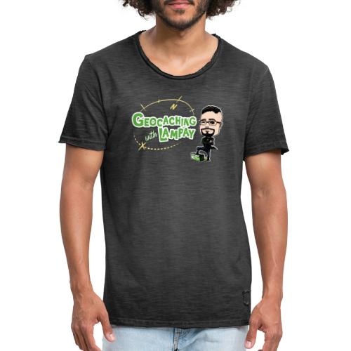 Geocaching With Lampay - T-shirt vintage Homme