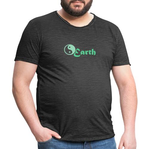 Earth - Männer Vintage T-Shirt
