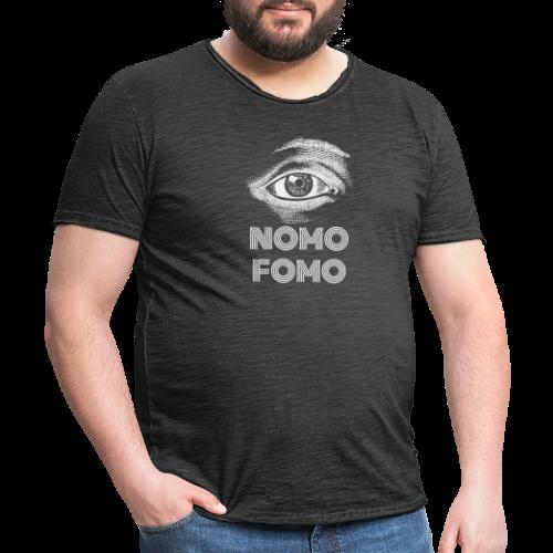 NOMO FOMO - Men's Vintage T-Shirt