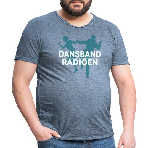 Dansbandradioen - Vintage-T-skjorte for menn