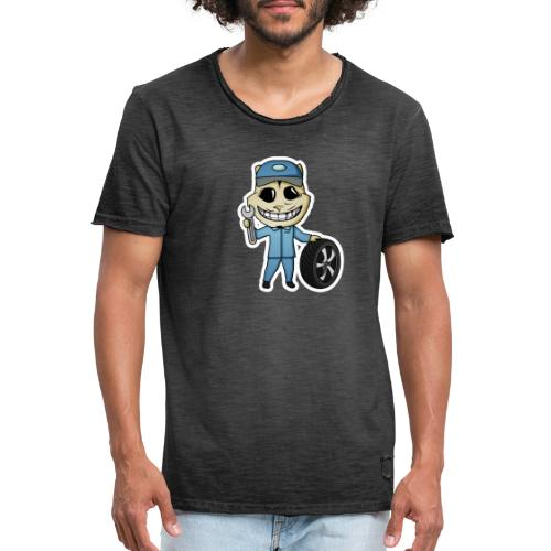 mech - Mannen Vintage T-shirt
