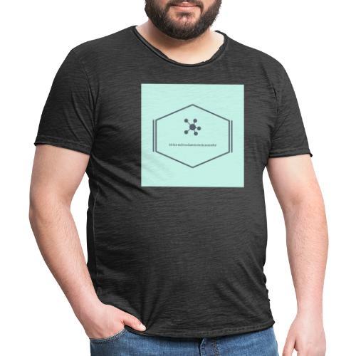 Ich bin nicht so dumm wie du aussiehst - Männer Vintage T-Shirt