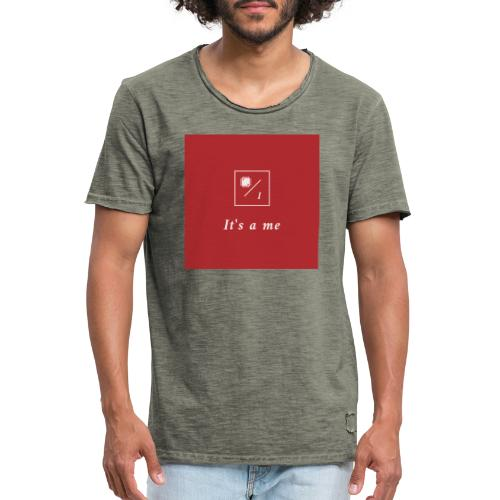 It's a me - Männer Vintage T-Shirt