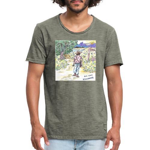 Rich Evans - Midsummer cover - Vintage-T-shirt herr