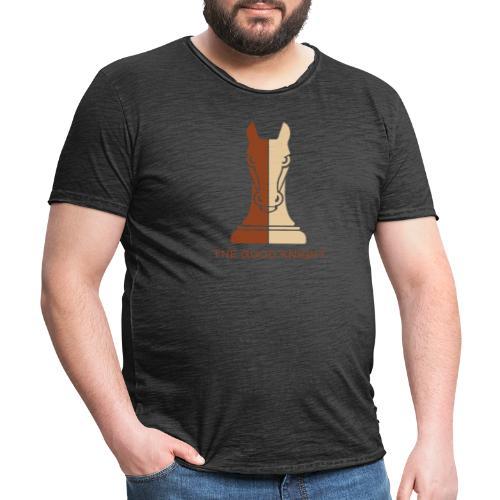 The Good Knight - Vintage-T-skjorte for menn