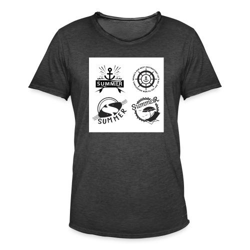 Summer adventure - Männer Vintage T-Shirt