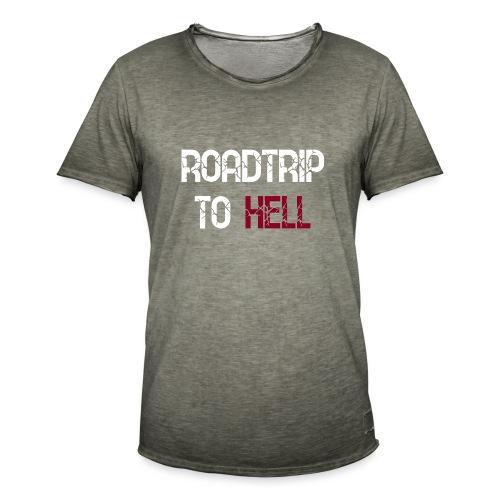 Roadtrip To Hell - Männer Vintage T-Shirt