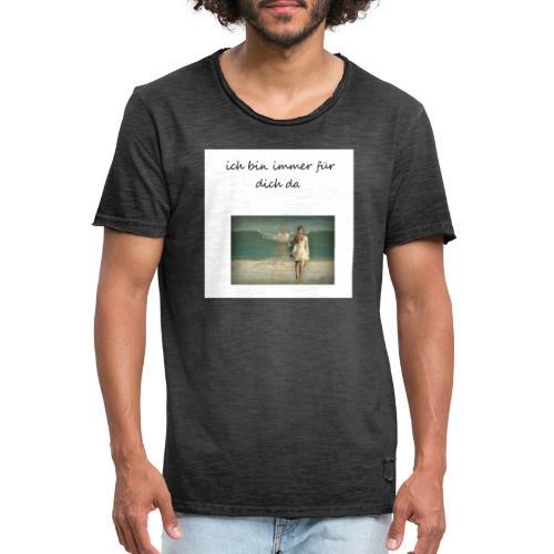 Verliebte - Männer Vintage T-Shirt