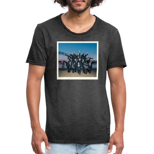 Könsikkäät - joulu saarella - Miesten vintage t-paita