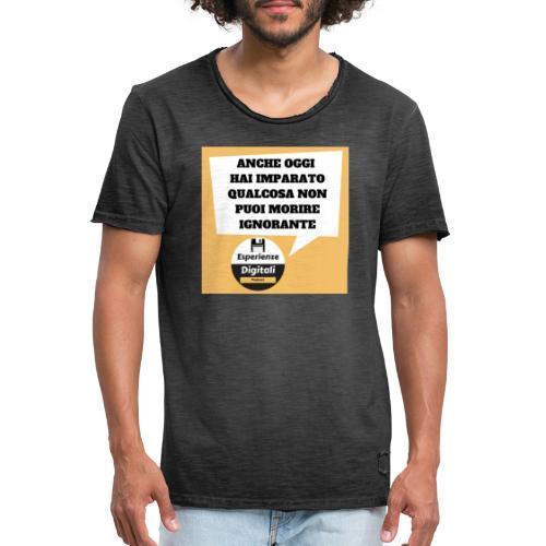 fumetto - Maglietta vintage da uomo