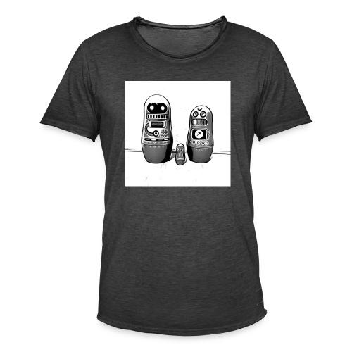 0342 Shirt ROBOT Bot IIII - Männer Vintage T-Shirt