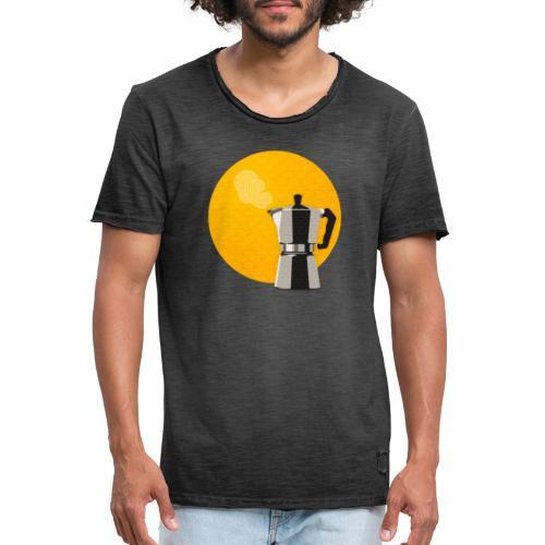 Moka tee - Men's Vintage T-Shirt
