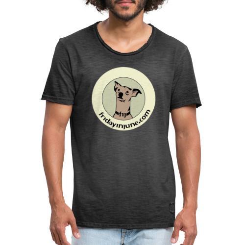 FIJ logo 2020 005 - Vintage-T-shirt herr
