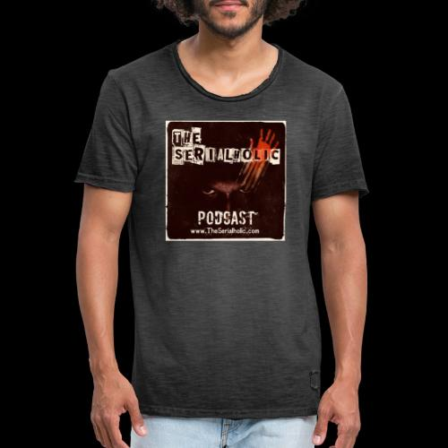 The Serialholic Podcast - Men's Vintage T-Shirt