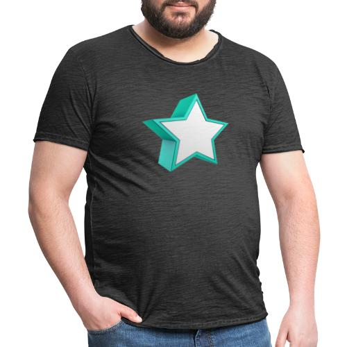 Star - T-shirt vintage Homme
