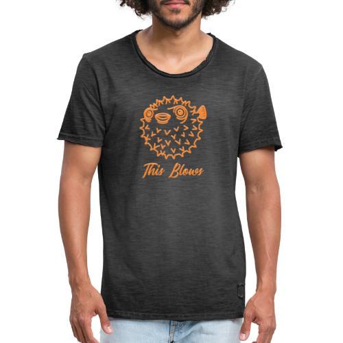 puffer - Men's Vintage T-Shirt