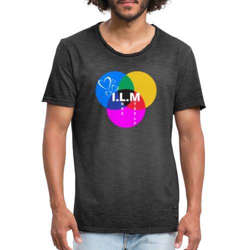 I love myself - logo - Herre vintage T-shirt