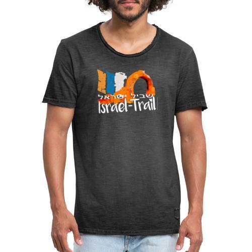 Israel Trail Kibbuz Dan, Shvil Israel white - Männer Vintage T-Shirt