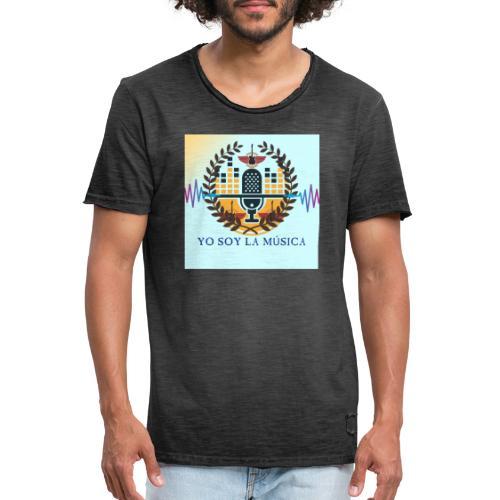 Yo soy la Música - Camiseta vintage hombre