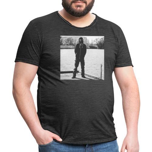 Gasmaske SW - Männer Vintage T-Shirt