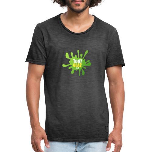 Splash tony - Camiseta vintage hombre