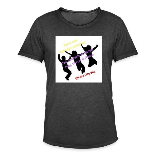 Dance3 - Camiseta vintage hombre