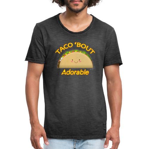 taco - Maglietta vintage da uomo