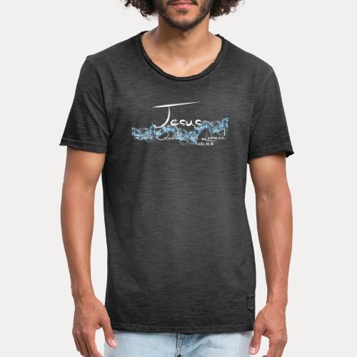 Jesus ist die Quelle des Lebens - Männer Vintage T-Shirt