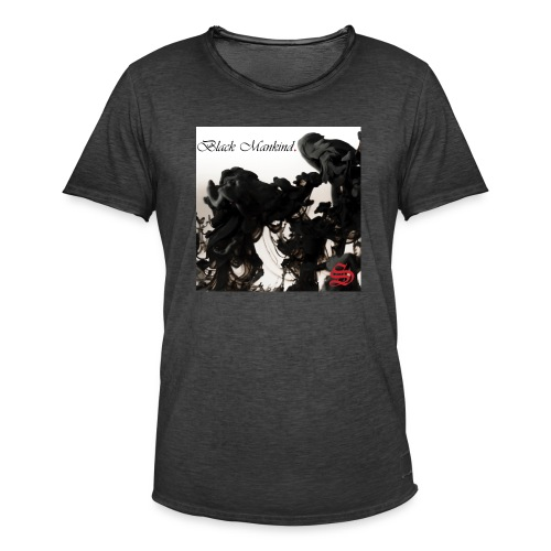 Black Mankind - T-shirt vintage Homme