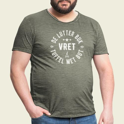 De Lutter buk - Mannen Vintage T-shirt