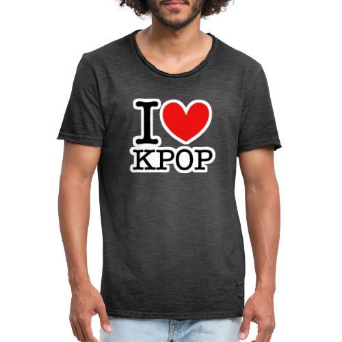 Kpop - Männer Vintage T-Shirt