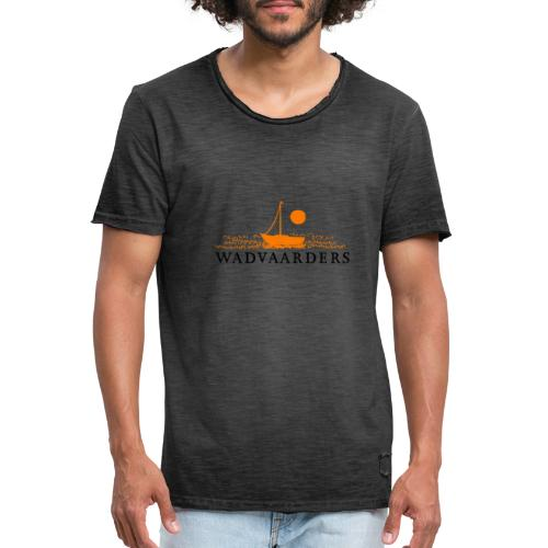 WADVAARDERS - Mannen Vintage T-shirt