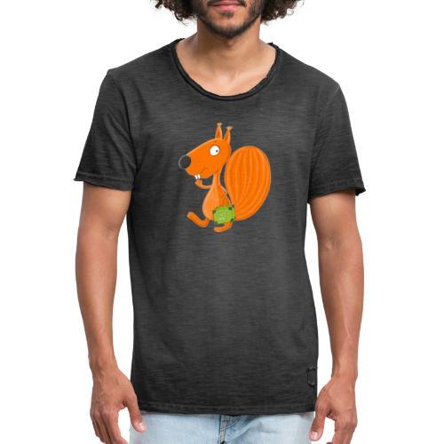 Eichhörnchen Nuss-Doc - Männer Vintage T-Shirt