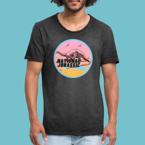 National Jurassic - Men's Vintage T-Shirt