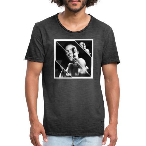 FU striped - Vintage-T-shirt herr