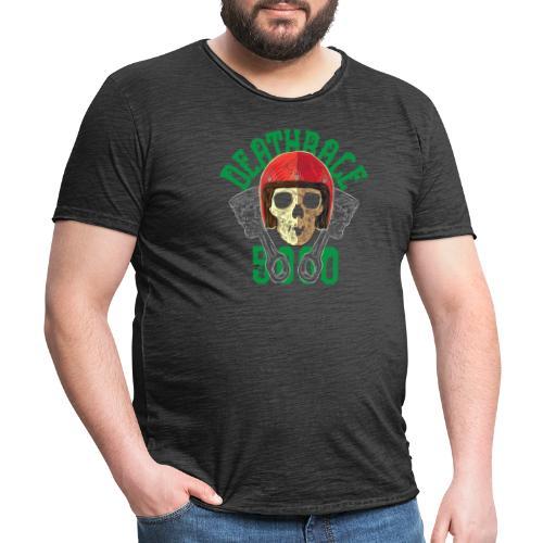 Deathrace5000 - Miesten vintage t-paita