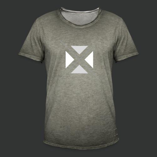 triangles-png - Men's Vintage T-Shirt