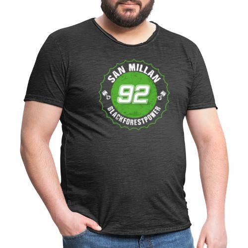 San Millan Blackforestpower 92 rund - Männer Vintage T-Shirt