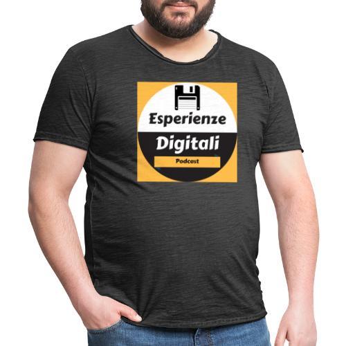 Logo Esperienze Digitali - Maglietta vintage da uomo