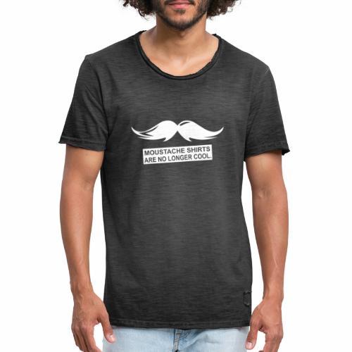 Sind nicht mehr cool Schnurrbart - Männer Vintage T-Shirt