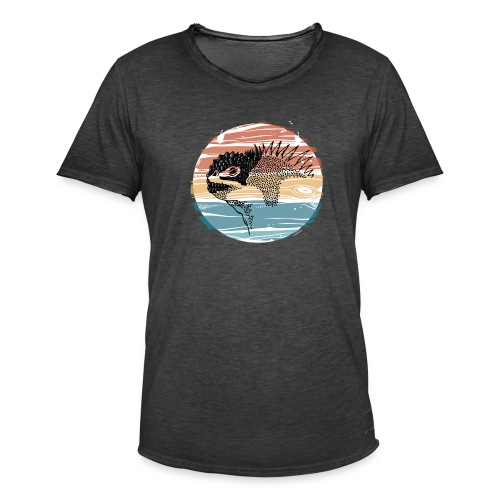 iguana - Camiseta vintage hombre