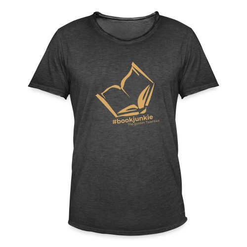 #bookjunkie - The golden Twenties Edition - Männer Vintage T-Shirt